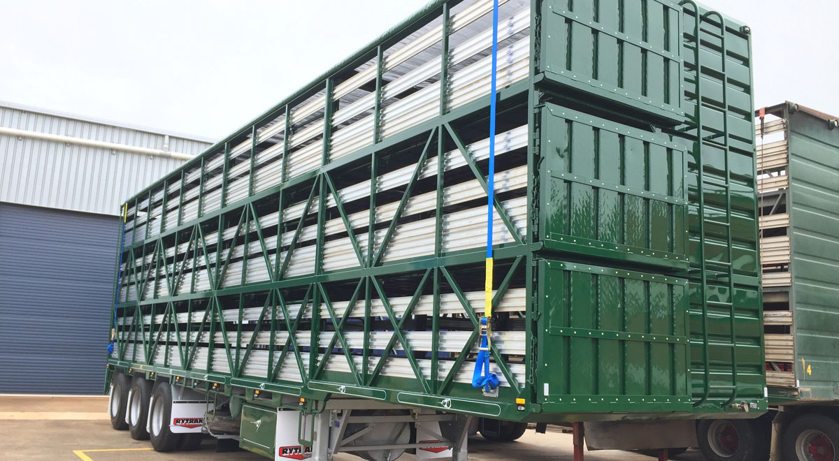Rytrans Refurbed 3 Deck Pig Trailer