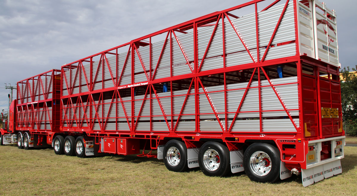 Rytrans B-double Cattle Trailer  |  2016
