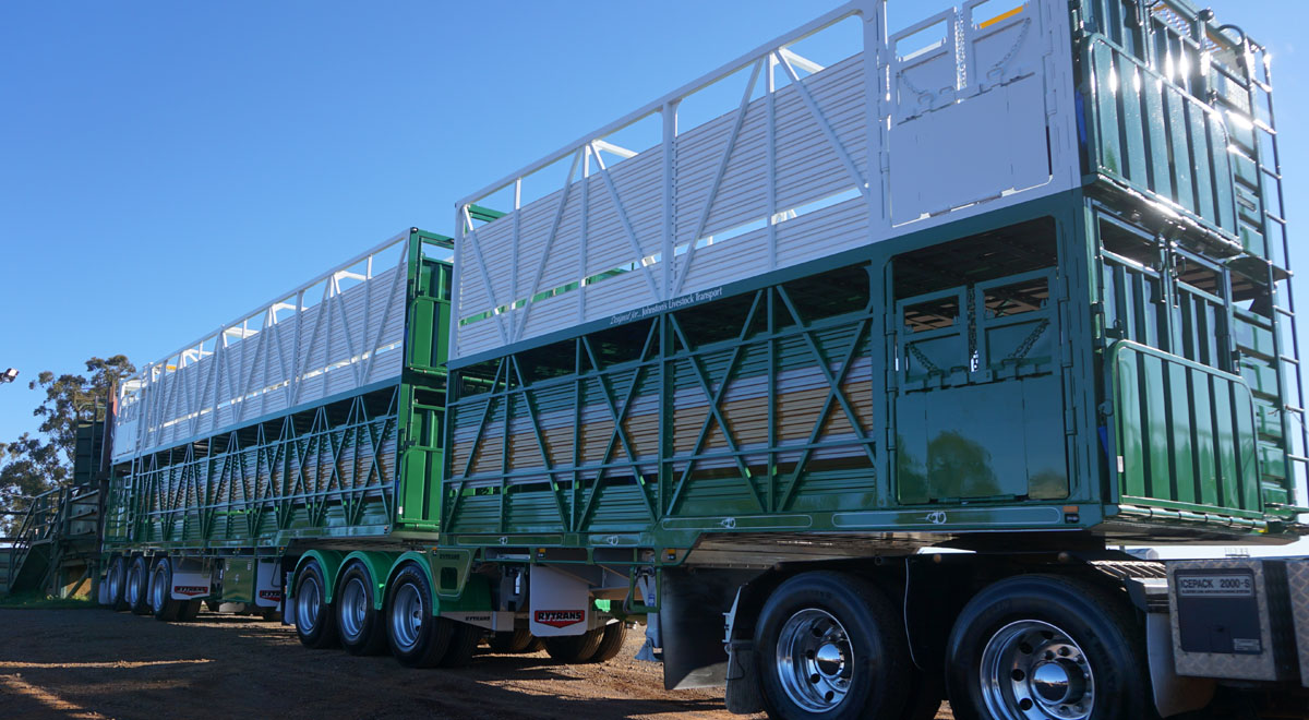 Rytans B-double Cattle Trailer  |  2015