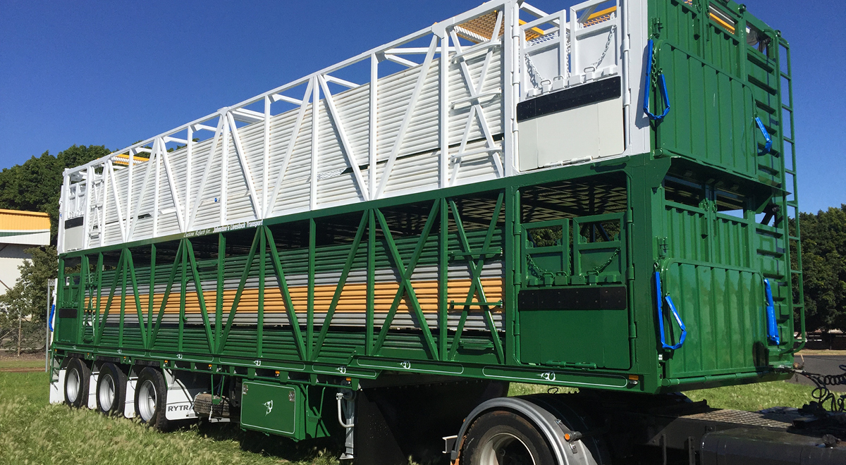 Cattle Trailer Refurbished  |  2017