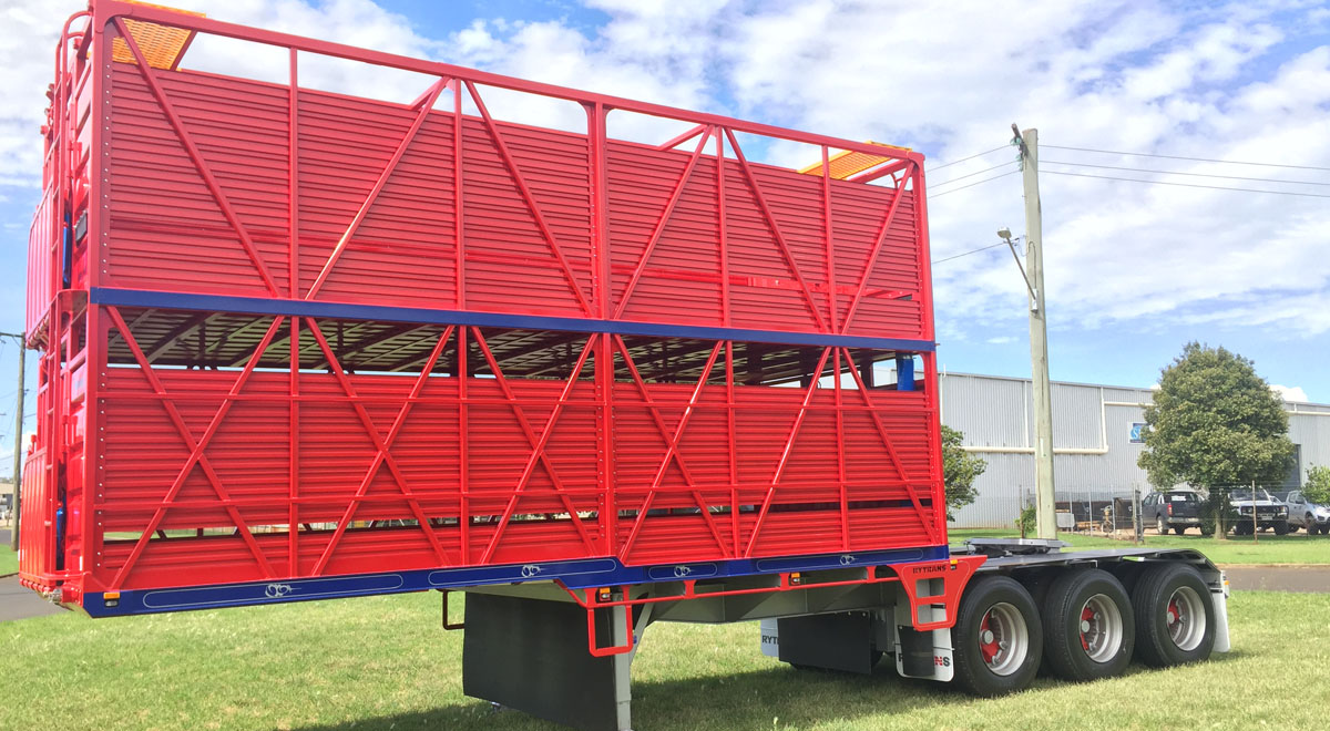 Rytrans Refurbed B-double Lead Catte Trailer