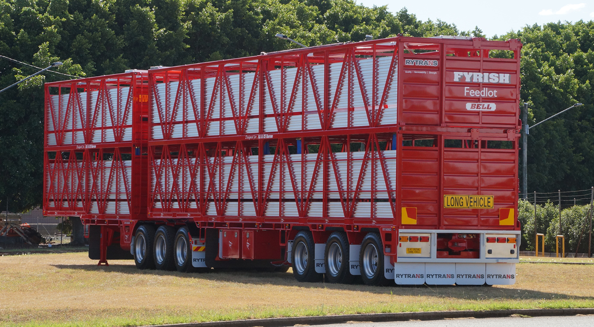 Rytrans B-double Cattle Trailer  |  2017