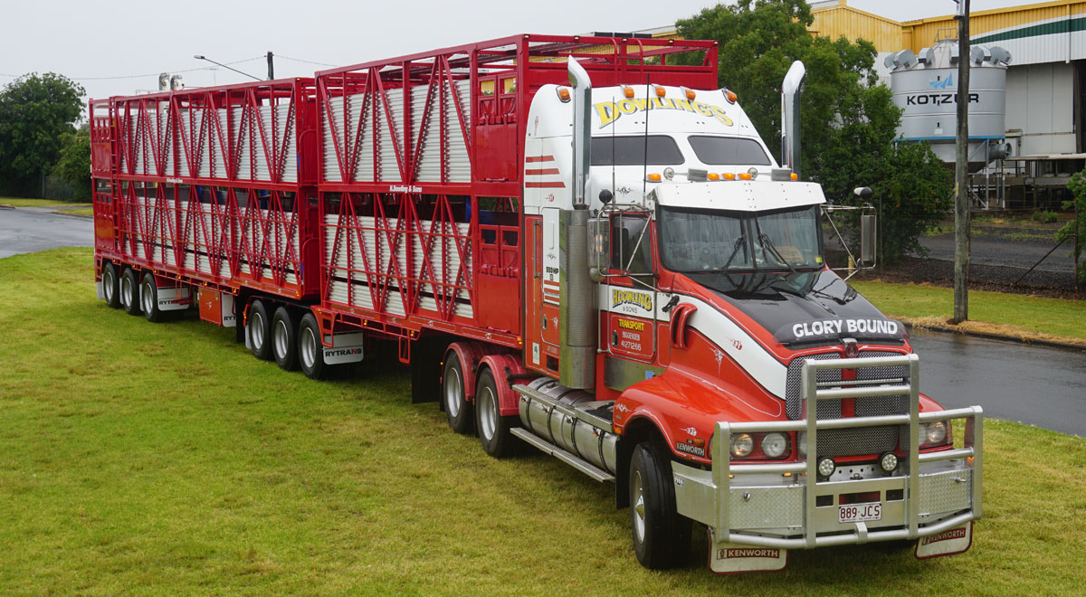 Rytrans B-double Cattle Trailer  |  2015