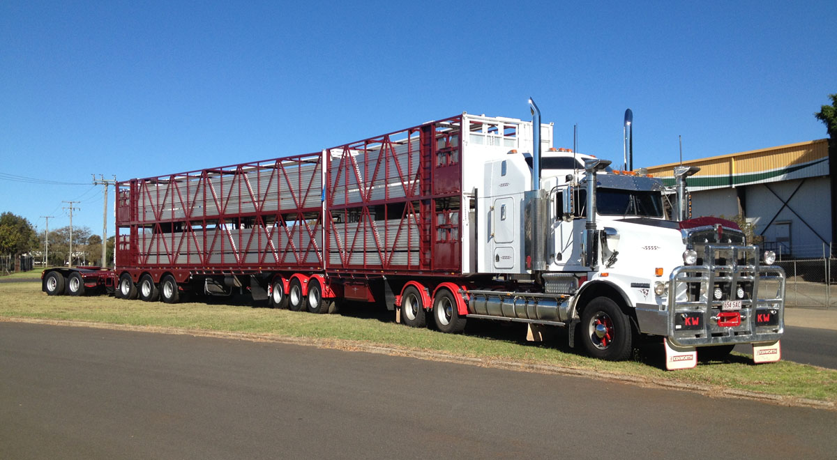 Rytrans Refurbed B-double Cattle Trailers