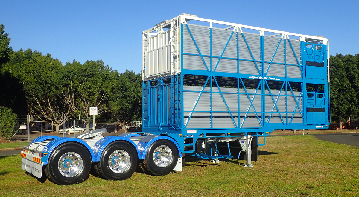 Rytrans Cattle Trailer  |  2017